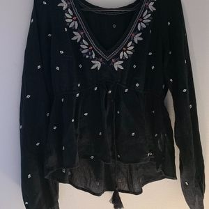 Abercombie & Fitch Long sleeve blouse